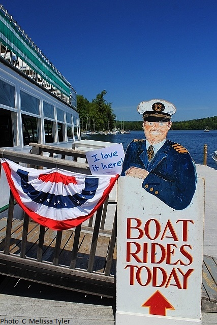 Sunapee Cruises - Lake Sunapee New Hampshire