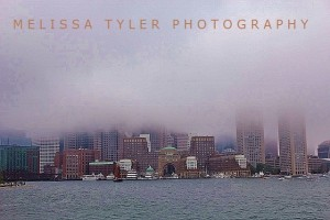 Foggy Boston from Boston Harbor Cruises 1 - Copy